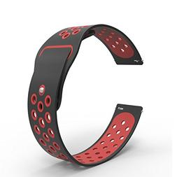 B-Great 20mm Quick Release Breathable Watch Band Compatible