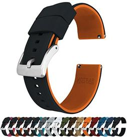 Barton Elite Silicone Watch Bands - Quick Release - Choose S