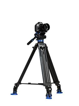 Benro S7 Twin Leg Aluminum Video Tripod Kit