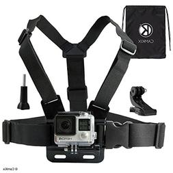 CamKix Chest Mount Harness compatible with Gopro Hero 7, 6,