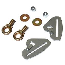 Dragonfire Racing Quick-Release Snap Hook Harness Tab Kit