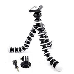 Eggsnow Flexible Octopus Tripod Stand for Gopro Mount Adapte