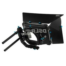 Fotga DP3000 M3 Matte Box for Follow Focus 15mm Rail Rod Rig