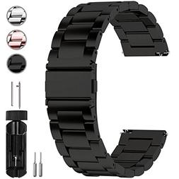 Fullmosa Watch Band 18mm 20mm 22mm 24mm, 3 Colors Quick Rele