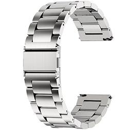 Fullmosa Watch Band, Stainless Steel Quick Release Watch Str