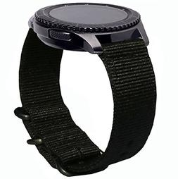Gear S3 Frontier Bands, 22mm Quick Release Ticwatch Pro Nylo