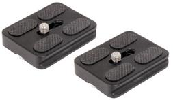 SET OF 2 Replacement Quick Release Plates for the MeFoto A13