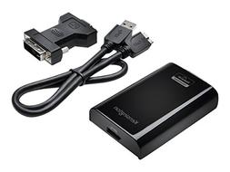 Kensington USB 3.0 to DVI Multi-Display Adapter with Display