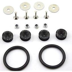 Leadrise Car/Truck Black Aluminum Quick Release Fastener Kit