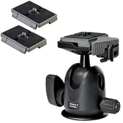 Manfrotto 496RC2 Compact Ball Head with Quick Release Plate