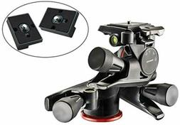 Manfrotto MHXPRO-3WG XPRO Geared Head with Two Calumet Quick