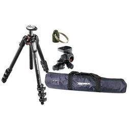 Manfrotto MT055CXPRO4 Carbon Fiber 4 Sections Tripod with Ho