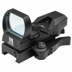 NcSTAR NC Star D4BQ, Red Reflex Sight 4 Reticles, QR Mount,