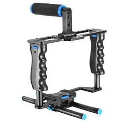Neewer Aluminum Alloy Camera Video Cage Film Movie Making Ki