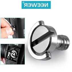 """Neewer D Shaft D-ring 1/4"""" Mounting Screw 10mm Shaft for Cam"""
