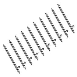 Pbcode Quick Release Spring Bars Watch Band Pins 22mm 10PCS