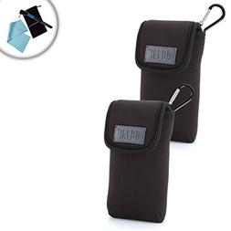 USA Gear Premium Two Way Radio Travel Sleeve Case  Carrying