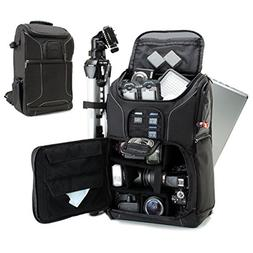 Professional Camera Backpack DSLR Photo Bag with Comfort Str