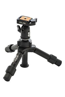 "SLIK Mini Pro DQ Table-Top Tripod, 2-Section, Max 9 "" Black"