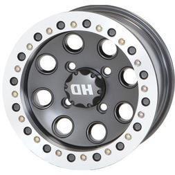 STI 4/156 HD Beadlock Wheel 14x7 4.0 + 3.0 Slik-Kote for Pol