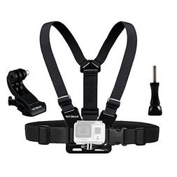 Sametop Chest Mount Harness Compatible with GoPro Hero , Fus