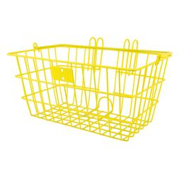 Sunlite Wire Lift-Off Front Basket, Yellow