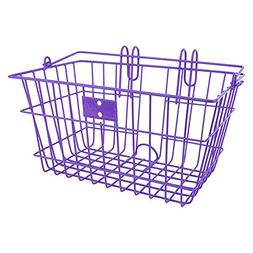 Sunlite Wire Lift-Off Front Basket, Purple