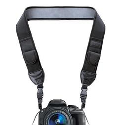 DSLR Camera Strap Shoulder Neck with Comfortable Neoprene Pa