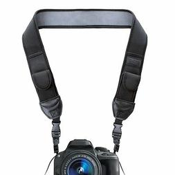 USA GEAR Camera Shoulder Holster Strap with Accessory Storag