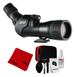 Vanguard Endeavor HD 65A Angled Eyepiece Spotting Scope, 15-