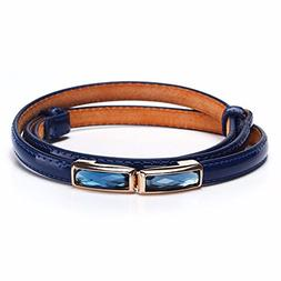 YISANLING-YD Gem of a fine lady belt buckle candy color belt