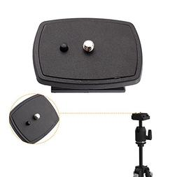 Yosoo Travel Tripod Head connect Kit DSLR SLR Replacement Ra