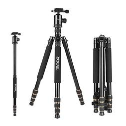 Zomei Z668 Professional DSLR Camera Fluid Head Tripod Monopo