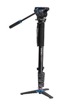 Benro A48FDS4 Video Monopod Kit, Includes A48FD Aluminum Mon
