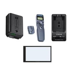 Sony A6000, A63000 Accessory Bundle kit NPFW50 Rechargeable