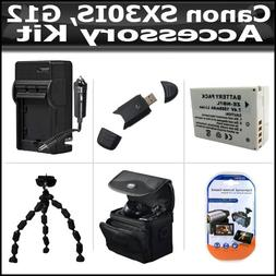 Accessory Kit For The Canon SX30IS SX30 IS Canon G12 Digital