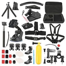 Basic Pro - Action Camera Accessory Kit for Hero Session/5 H