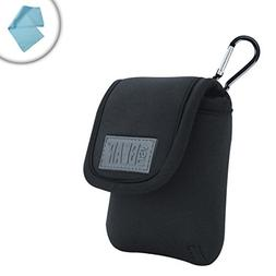 USA GEAR Action Camera Protective Carrying Pouch w/ Quick Re