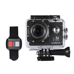 Action Camera, Andoer Action Sports AN4000 4K 30fps 16MP WiF
