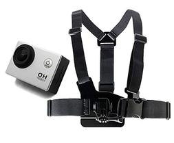 DURAGADGET Adjustable Chest Harness Mount With Quick Release