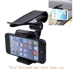 Adjustable Sun Visor In Car Clip Mount Holder Stand Cradle G