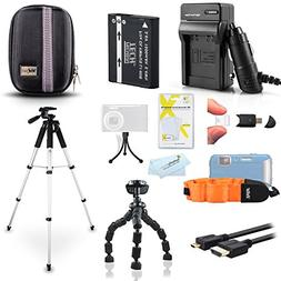 Advanced Accessories Kit For Olympus TOUGH TG-2 iHS, TG-3, T