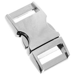 """Craft County 100% Alloy Metal Buckle - 5/8"""" - Curved Side Re"""