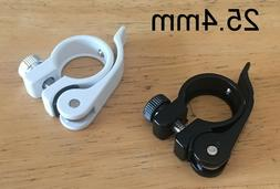 Alloy Quick Release Bicycle Seat Post Clamp Collar 25.4mm  B
