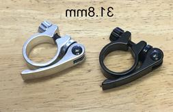 Alloy Quick Release Bicycle Seat Post Clamp Collar 31.8mm  B
