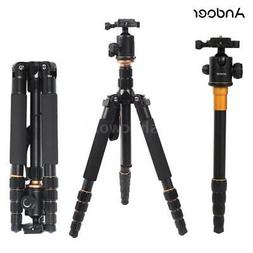 Andoer Aluminium Alloy Tripod Unipod Monopod with Ball Head