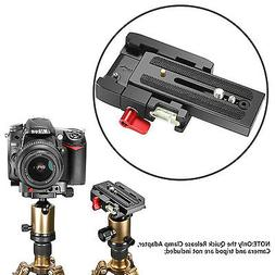 Neewer Pro Aluminum Alloy Quick Release Plate Adapter with 1