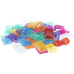 """PARACORD PLANET Assorted 3/8"""" Side-Release Buckle Packs - Ch"""