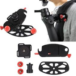Besde Backpack Mount Chest Strap Mount Belt Adapter For DJI