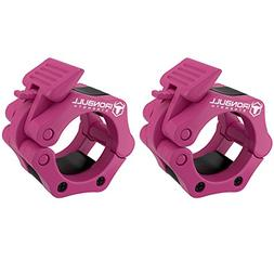 """Barbell Collars  – Locking 2"""" Olympic Size Weight Clamps -"""